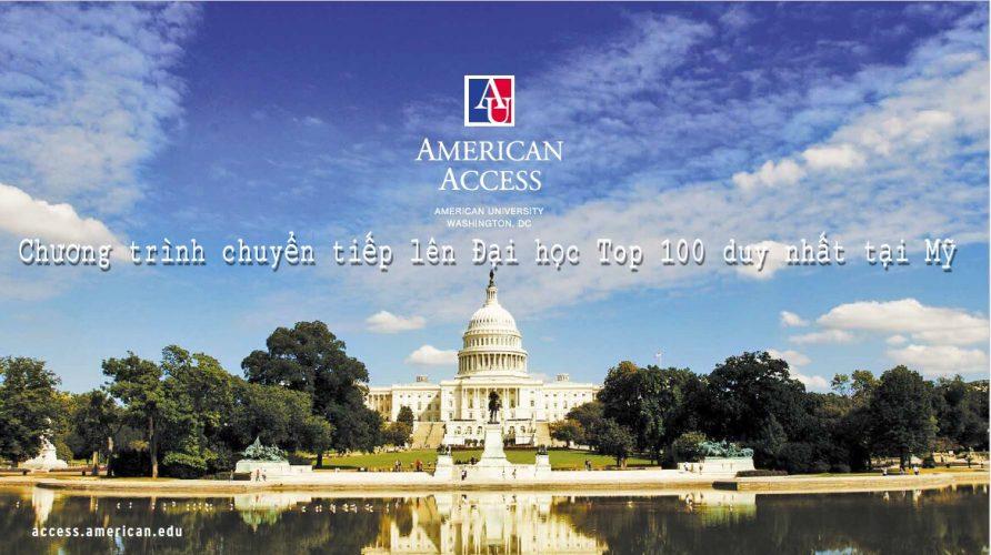 AMERICAN ACCESS :  CHƯƠNG TRÌNH CHUYỂN TIẾP LÊN ĐẠI HỌC TOP 100 DUY NHẤT TẠI MỸ