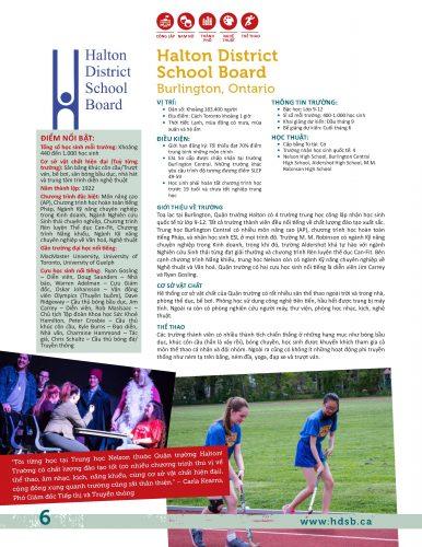 Halton District School Board, Burlington, Ontario, Canada