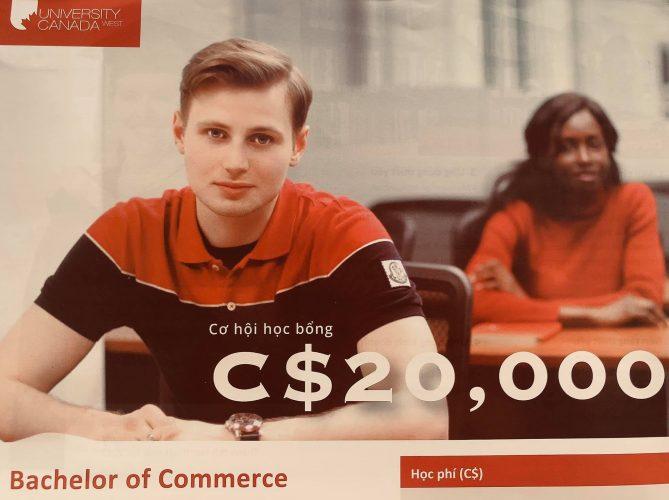 CƠ HỘI HỌC BỔNG C$20,000 tại UCW